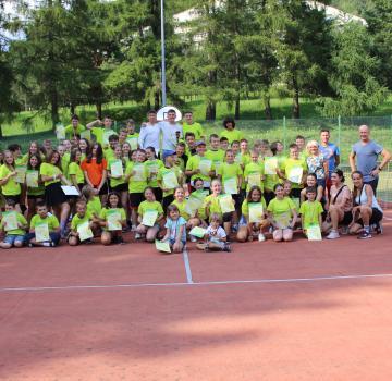 Obóz tenisowy w Wysowej Zdrój 2021