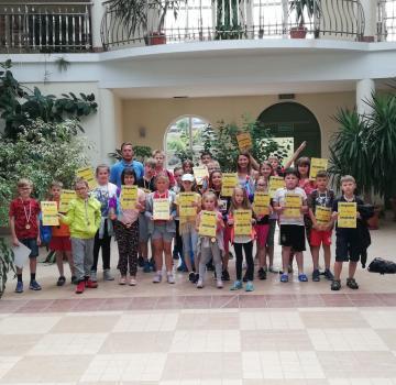 Półkolonia sportowo-przygodowa w Łańcucie - turnus II 2019