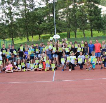 Obóz tenisowo-taneczny w Wysowej Zdrój 2018