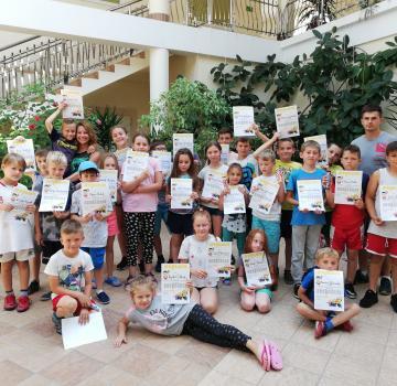 Półkolonia sportowo-przygodowa w Łańcucie - turnus III 2018